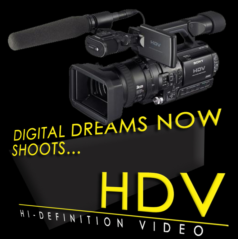 Our Wedding Videographers Shoot HDV